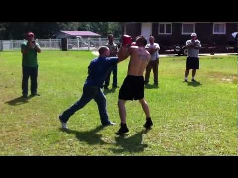 Army Ranger Reservist Vs Local Mma Fighter Trash Talking At