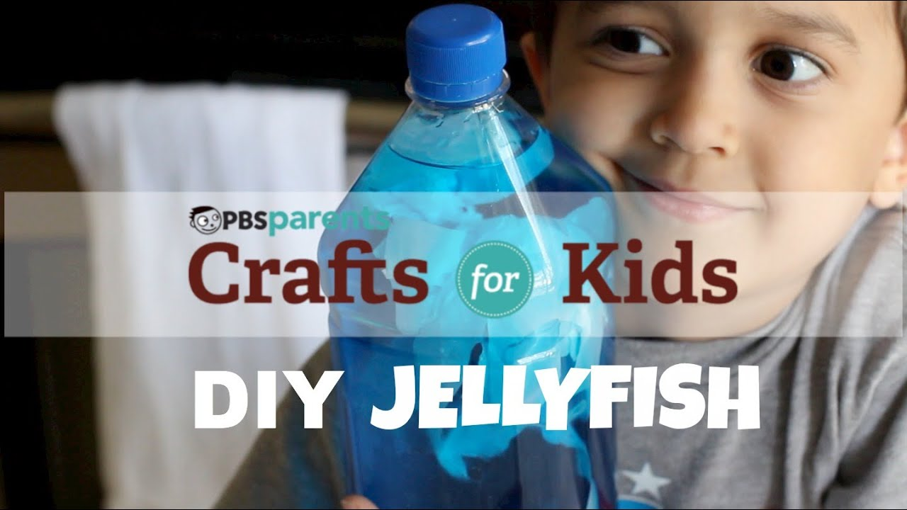 Jellyfish In A Bottle Science Crafts For Kids Pbs