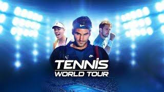 Tennis World Tour LIVE PS4 Gameplay