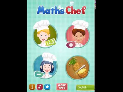 Kids Chef Math learning game short preview
