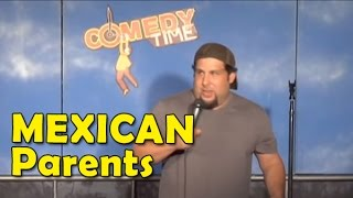 Steve Trevino - Mexican Parents (Stand Up Comedy)