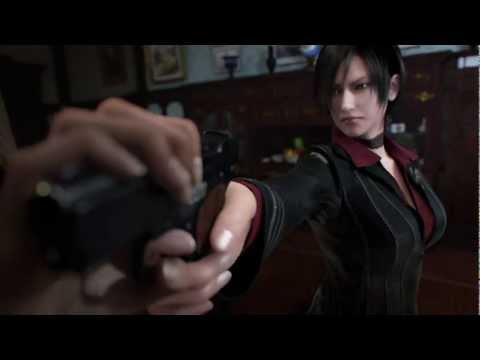 Resident evil damnation ladies fight (Ada Wong VS Svetlana)