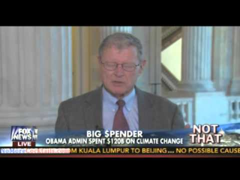 James Inhofe: Administration has cut military and wasted $120 billion on climate change