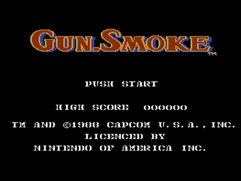 Gun.Smoke - NES Gameplay Video