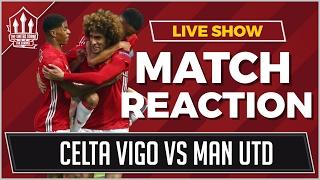 Manchester United Vs Celta Vigo 1-1  FELLAINI GOAL SENDS UNITED TO THE FINAL