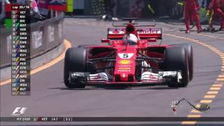 2017 Monaco Grand Prix: Race Highlights
