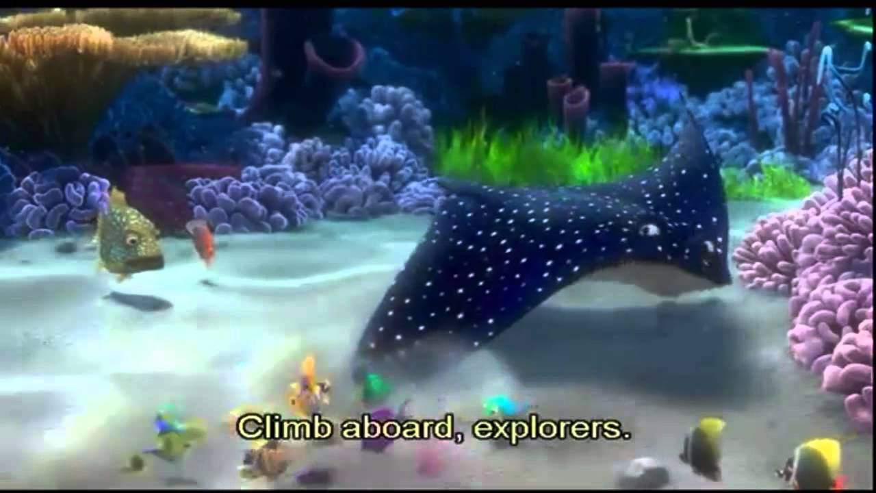 Mr. Ray - Finding Nemo - YouTube