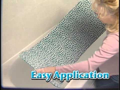 Gator Grip No Slip Bathtub Mat Youtube