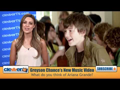 Greyson Chance 'Unfriend You' Music Video With Ariana Grande