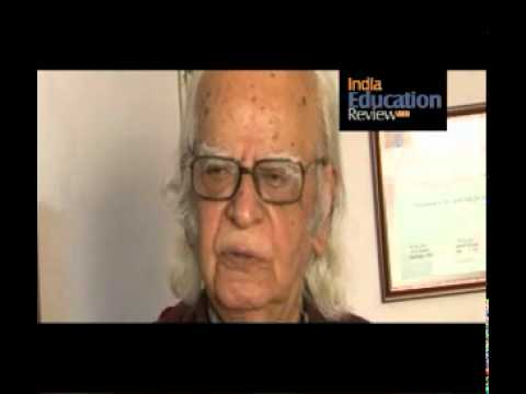 Interview of Professor Yash Pal, Chancellor of Jawaharlal Nehru University - Part I