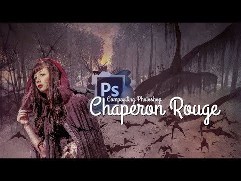 [TUTO] PHOTO MONTAGE SURREALISTE CHAPERON ROUGE AVEC PHOTOSHOP