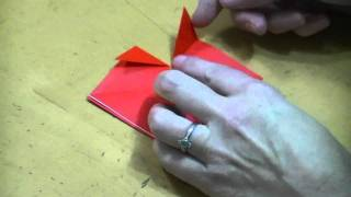 Weekend Origami--valentine's Heart #3 (a Little Harder)