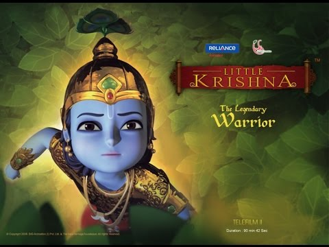 LITTLE KRISHNA ENGLISH TELE FILM PART 2 &quot;THE LEGENDARY WARRIOR&quot;