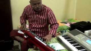 Bulbul - Kannada Song Baare Baare Chandada Chaluvina(Nagarahavu)on Bulbul Tarang/Banjo by Vinay M Kantak