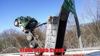 Truck Crash Compilation February 2014