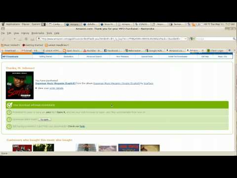 Download digital music from Amazon without amazon mp3 software