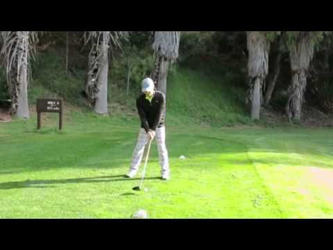 Terry Kim T.K Driver Golf Shot