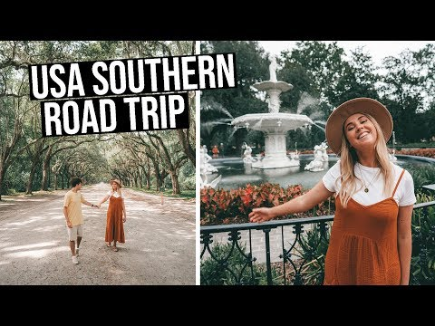 Our 3 Week Southern USA Road Trip (Savannah, Charleston, South Carolina, Utah)