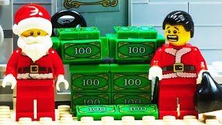 Lego Santa Claus Home Robbery Fail