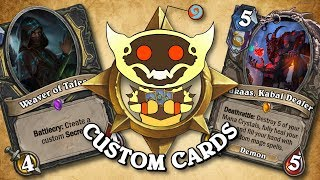 TOP CUSTOM CARDS OF THE WEEK #32 | Card Review | Hearthstone