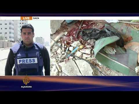 Israeli strike kills refugees in Gaza UN school