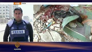 Israeli strike kills refugees in Gaza UN school