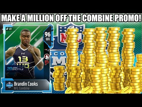 HOW TO MAKE A MILLION COINS FROM THE COMBINE PROMO! | MADDEN 18 ULTIMATE TEAM