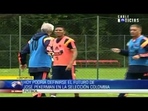 Hoy podría definirse el futuro de Pékerman en la Selección Colombia