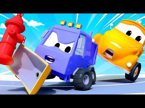 Эвакуатор Том - Рассеянный водитель - Автомобильный Город  🚗 детский мультфильм