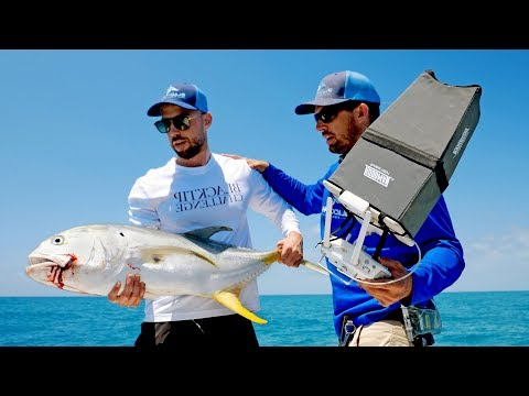Using a Drone to Find & Catch Giant Fish 2