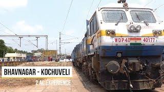 Bhavnagar Kochuveli Express Second Class AC Journey Vlog #527