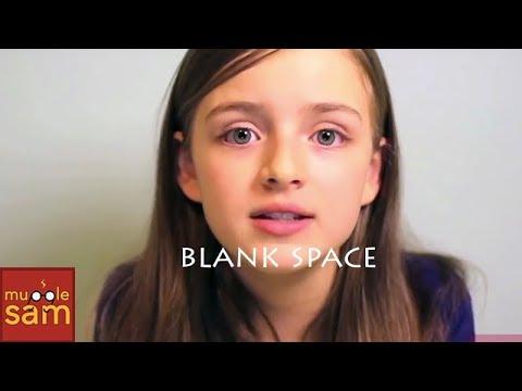 Sophia & Bella - BLANK SPACE - TAYLOR SWIFT By 11-Year-Old Sophia