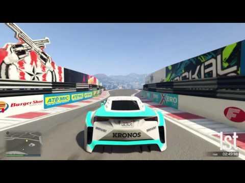 GTA V Stunt Race With Serjiqz and CJ!