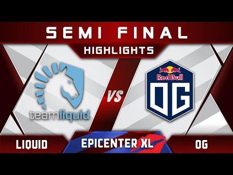 Liquid vs OG [GREAT GAME] EPICENTER XL Major 2018 Highlights Dota 2