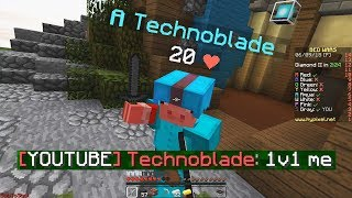 Technoblade vs ShotGunRaids in Bedwars