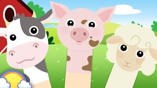 Animal Farm Finger Family | Nursery Rhyme Song for Babies & Children | CheeriToons