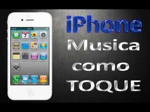 Musicas como toque no iPhone
