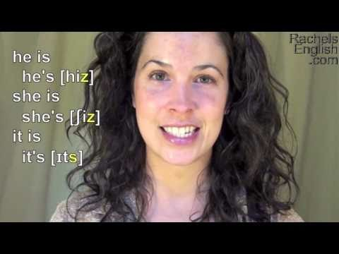 How to Pronounce Contractions: American English Pronunciation