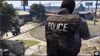 Gta 5: Police Vs Gangster (court métrage)