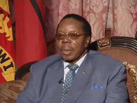 EXCLUSIVE: Malawi President - Bingu wa Mutharika