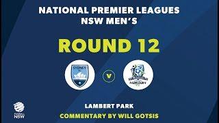 NPL NSW, Round 12, Sydney FC v Hakoah Sydney City East FC NPLNSW