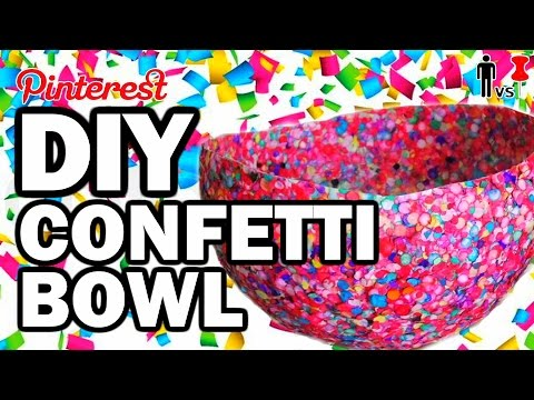 DIY Confetti Bowl - Man Vs Pin #104