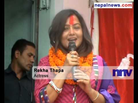 UML Politburo member Urmila Aryal, actress Rekha Thapa join UCPN(Maoist)