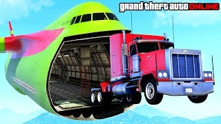 GTA 5 - AWESOME STUNTS, FUNNY MOMENTS, FAILS & GLITCHES (GTA Online Snowy Adventures)