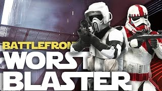 What's the Worst Blaster in Battlefront? Weakest Blasters after Death Star Patch