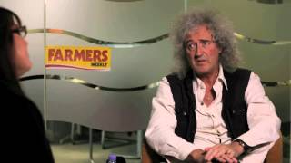 Brian May quizzed over badger cull