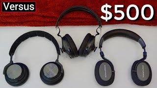 B&O H9i Vs B&W PX Vs Sennheiser HD1- The Premium Headphone Showdown