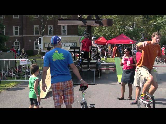 Dubé Juggling Presents: The 2012 NY Unicycle Festival