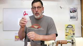 Quick Tip TUESDAY:  Wet sanding on the wood lathe with Sam Angelo
