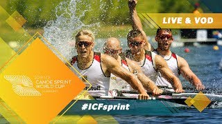 2019 ICF Canoe Sprint World Cup 2 Duisburg Germany / Day 2: Heats, Semis